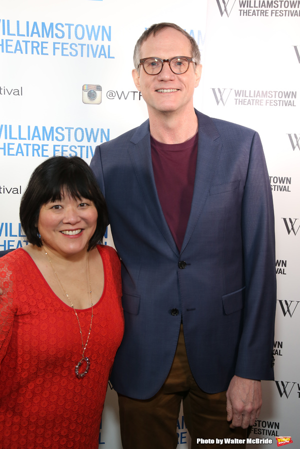 Ann Harada and Mark Brokaw