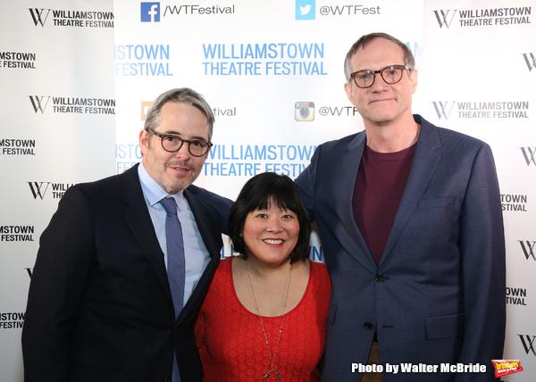 Matthew Broderick, Ann Harada and Mark Brokaw