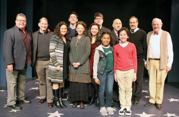 James Morgan, Evans Haile, Annette Jolles, Ben Fankhauser,  Lori Wilner, Julie Benko, Photo
