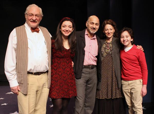 Tim Jerome, Julie Benko, Ned Eisenberg, Lori Wilner, Peyton Lusk Photo