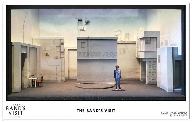 Broadway By Design: Scott Pask and Sarah Laux Bring THE BAND'S VISIT from Page to Stage