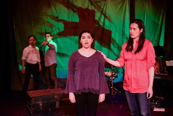 Vi Tran, Michael Van Pham, Carolyn Plurad and Diana Lee in THE BUTCHER'S SON