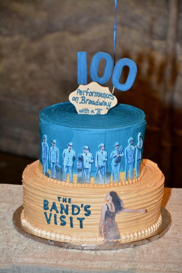 Photo Coverage: THE BAND'S VISIT Celebrates 100 Performances!