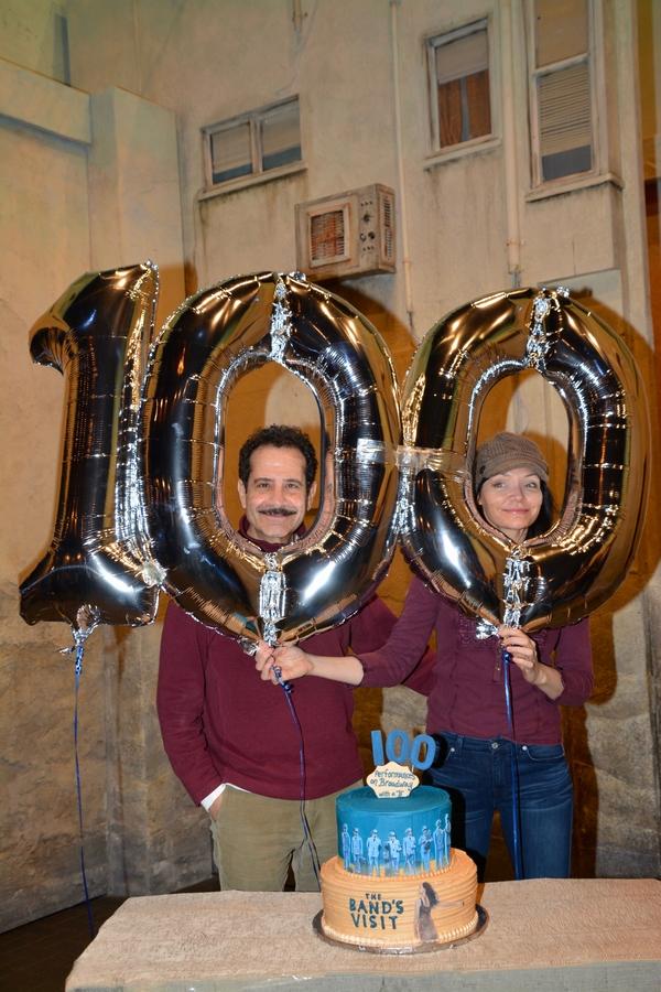 Tony Shaloub and Katrina Lenk