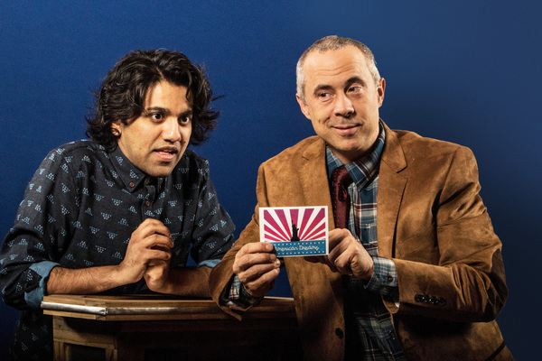 Pictured (from left): Imran Sheikh,* Jens Rasmussen.* Photo by Steve Wagner. *Actor a Photo