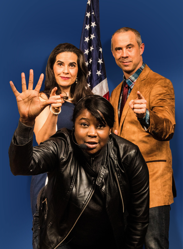 Pictured (from left): Leila Buck,* India Nicole Burton, Jens Rasmussen.* Photo by Steve Wagner. *Actor appears courtesy of Actors' Equity Association, the Union of Professional Actors and Stage Managers in the United States.
