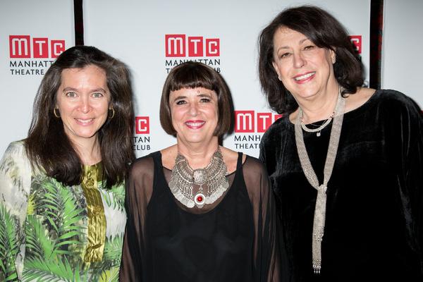 Diane Paulus, Eve Ensler, Lynne Meadow