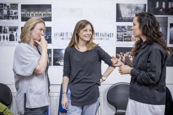 Carolyn Downing, Rebecca Frecknall, Dervla Toal