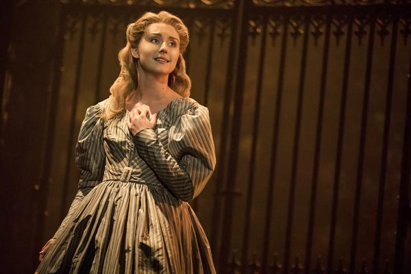 Jillian Butler as 'Cosette' in the national tour of LES MISÉRABLES. Photo by Matthew Murphy.