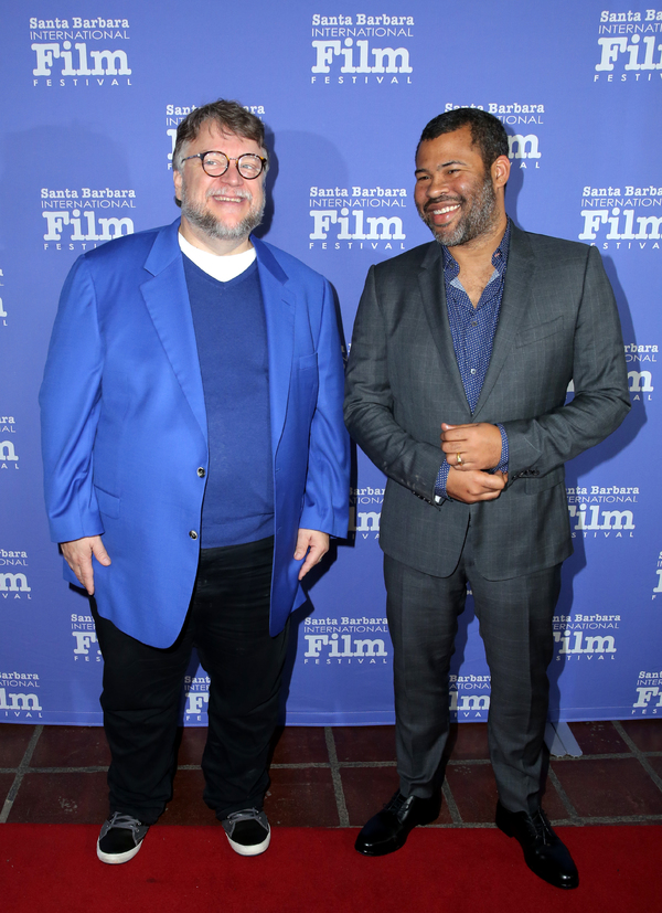 Guillermo del Toro and Jordan Peele
