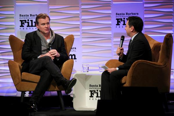 Christopher Nolan and Scott Feinberg