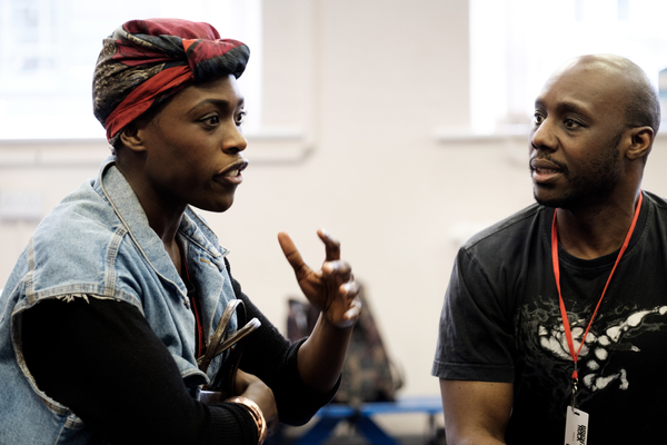 Photo Flash: In Rehearsal with the Company of BRIGHTON ROCK