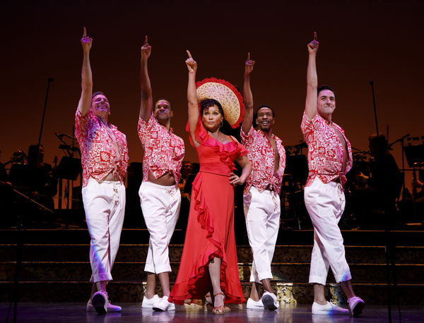 Photo Flash: First Look at the First Show of the Encores! Season, HEY, LOOK ME OVER!
