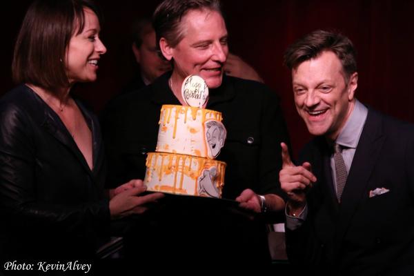 Photo Flash: Jim Caruso Celebrates a Birdland Birthday!