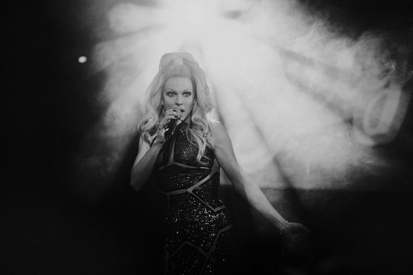 Courtney Act at Glasgow's Classic Grand February 8th 2018