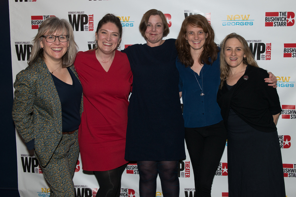 Lisa McNulty, Jaynie Saunders Tiller, Kate Benson, Lee Sunday Evans and Susan Bernfie Photo