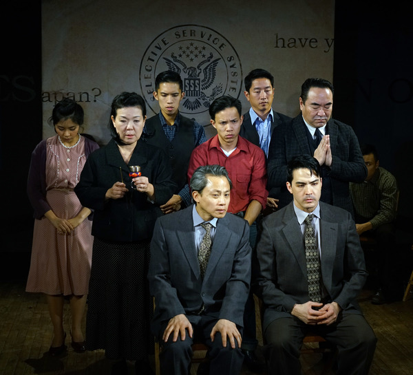 Leanne Cabrera, Shigeko Sara Suga, Claro de los Reyes, Tony Vo, Eric Elizaga, Scott Kitajima. Bottom (seated l to r): Dinh James Doan, Chris Doi