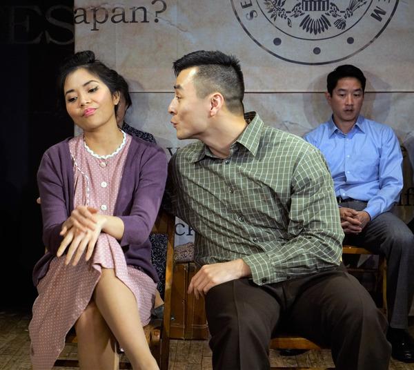 Leanne Cabrera, David Huynh, with Eric Elizaga Photo