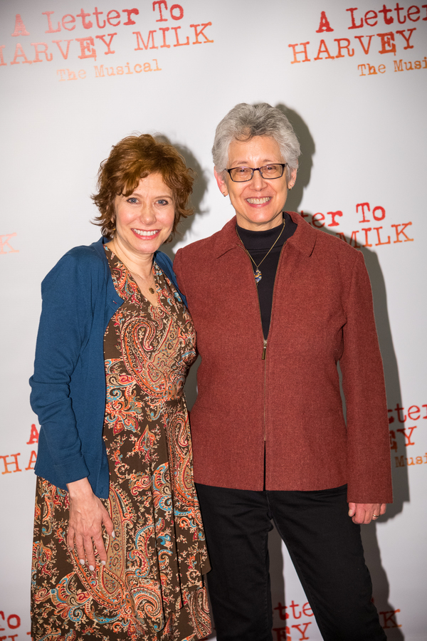 Cheryl Stern and Laura Kramer