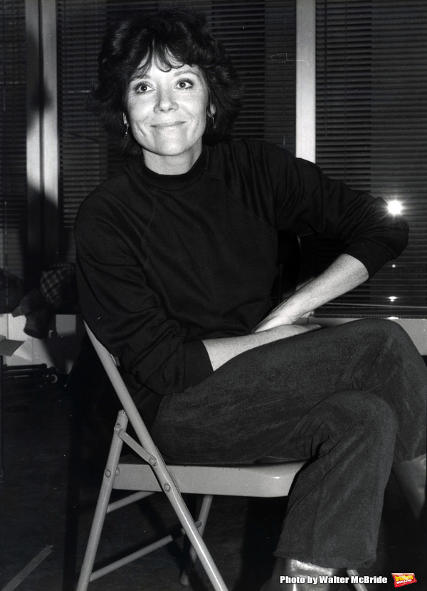Photo Throwback: Diana Rigg Rehearses for COLETTE in 1982