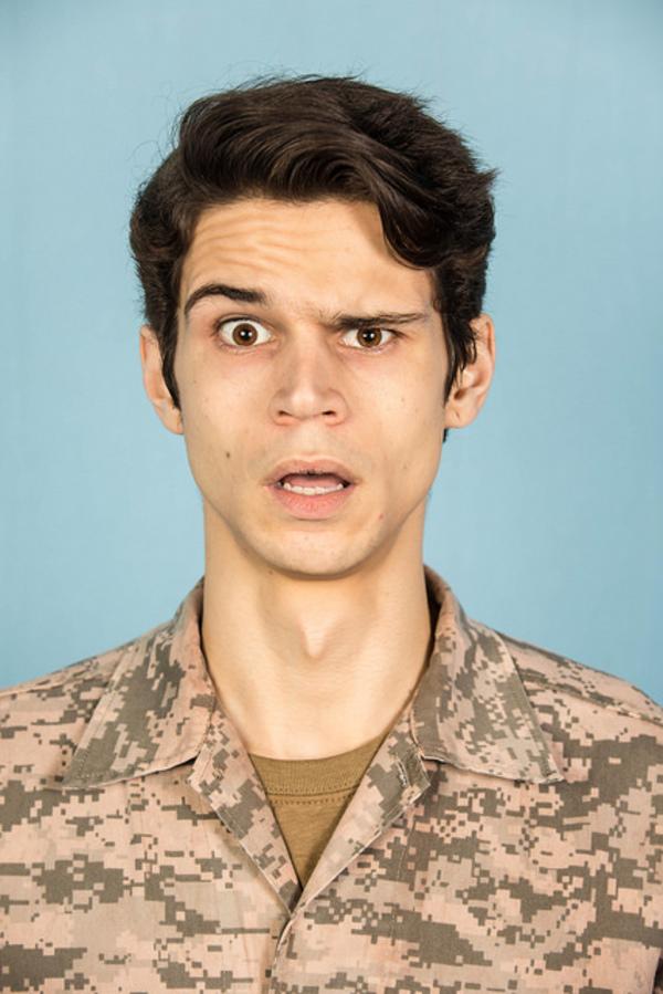 Robert Spence Gabriel as Isaac.