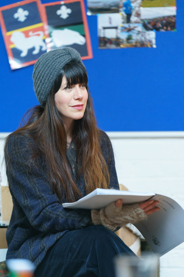 Photo Flash: In Rehearsal with Rose Theatre Kingston's CURTAINS