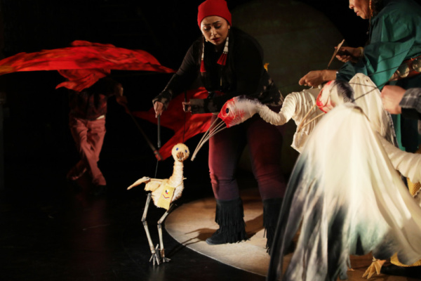 Photo Flash: AJIJAAK ON TURTLE ISLAND Opens at La MaMa