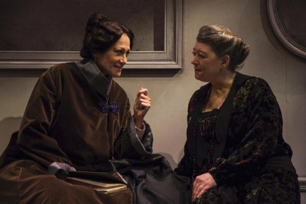 Valerie Leonard (Claribel Cone/ Gertrude Stein) and Grace Bauer (Etta Cone)