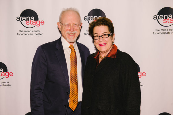Playwright Robert Schenkkan and Artistic Director Molly Smith