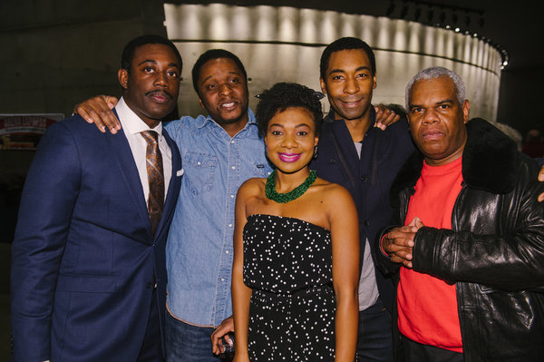 Gary-Kayi Fletcher (James Bevel and others), Bowman Wright (Dr. Martin Luther King, Jr.), Deonna Bouye (Coretta Scott King and others), JaBen Early (Stokely Carmichael and others) and Craig Wallace (Ralph Abernathy and others)