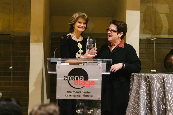 American Voice Award Recipient Senator Lisa Murkowski and Artistic Director Molly Smith