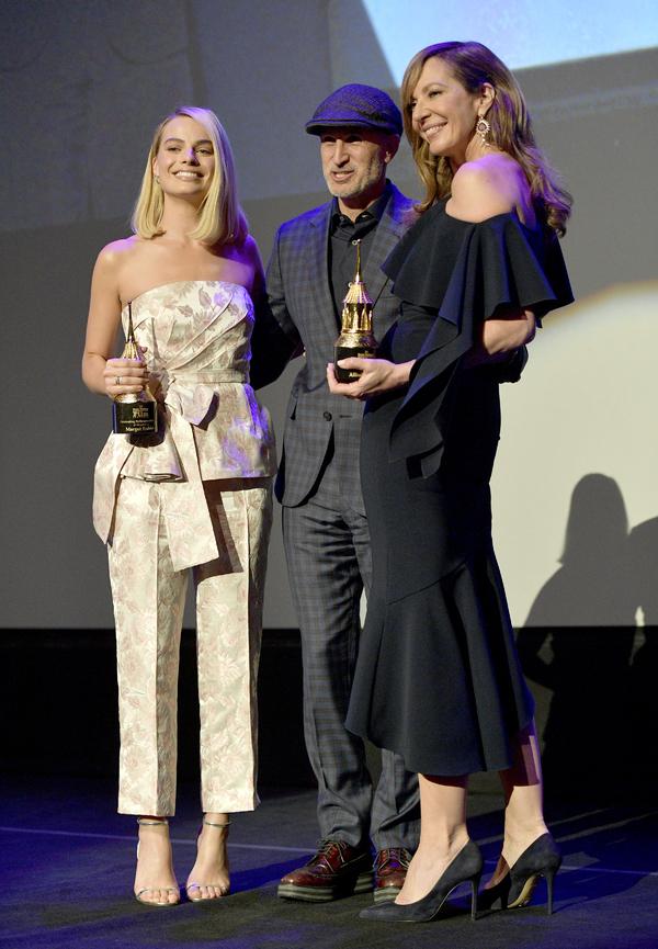 Actress Margot Robbie, director Craig Gillespie and actress Allison Janney