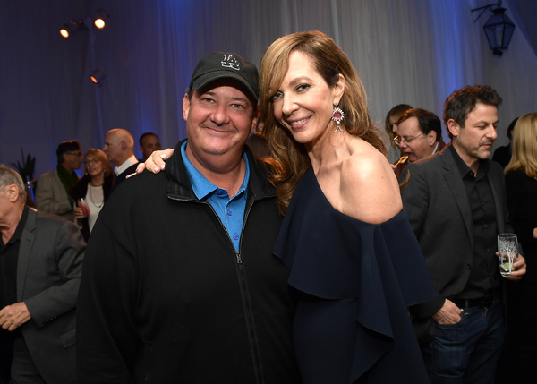 Brian Baumgartner and Allison Janney Photo