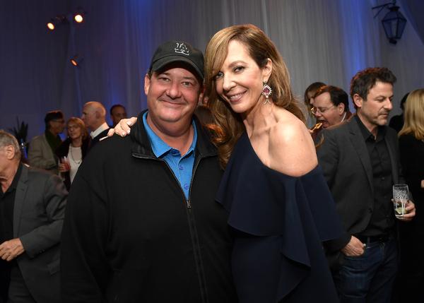 Brian Baumgartner and Allison Janney