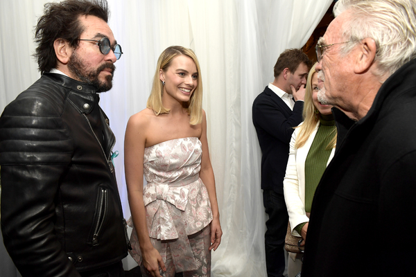 Roger Durling (left) and actress Margot Robbie (middle)