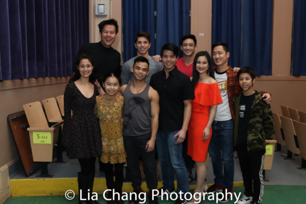 Photo Flash: Lainie Sakakura Ushers In The Year of the Dog at P.S. 87 With Broadway Pals Ali Ewoldt, Telly Leung, and More