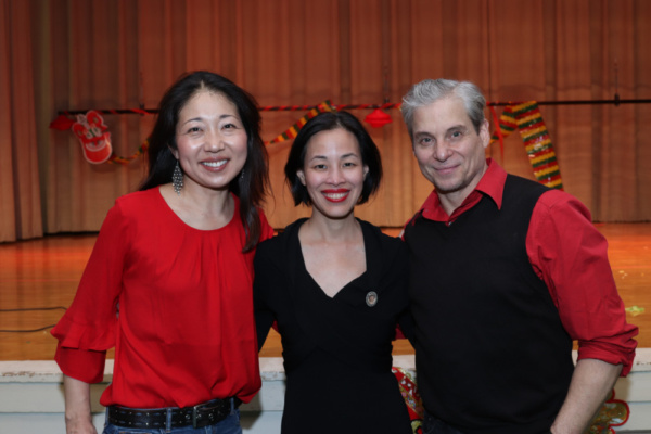 Lainie Sakakura, Lia Chang and Alex Sanchez