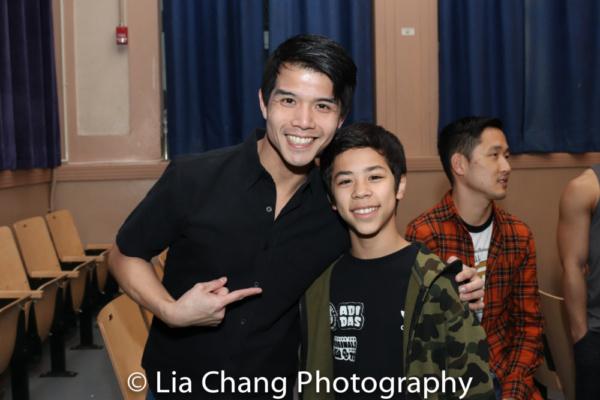 Telly Leung and Kai Rivera
