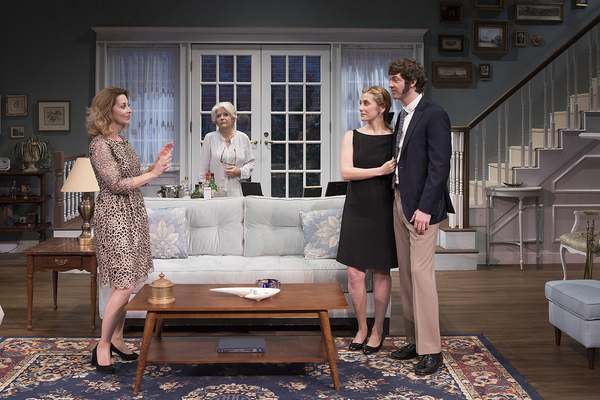 Sharon Lawrence, Meredith Baxter, Sally Hughes and Matthew Grondin