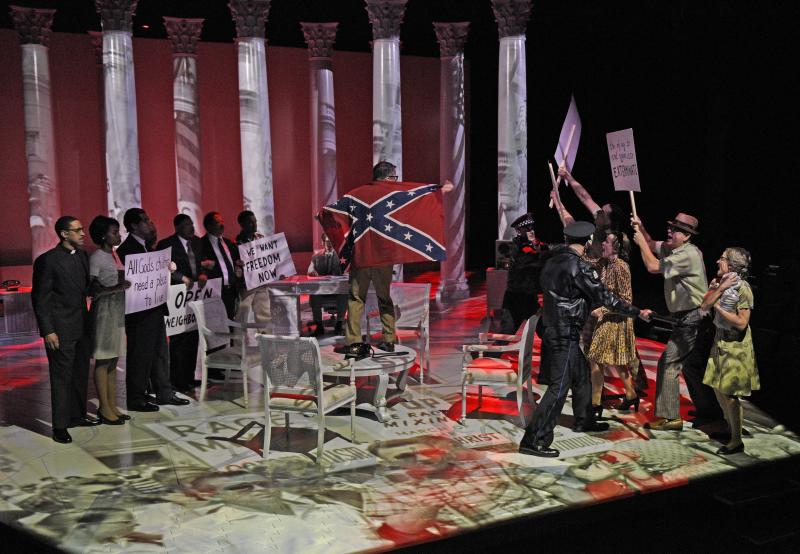BWW Review: Schenkkan and LBJ Make GREAT SOCIETY at the Alley Theatre