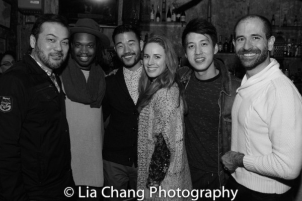 David Shih, Keelay Gipson, Daniel K. Isaac, Teal Wicks, Julian Leong and Carlos Armesto