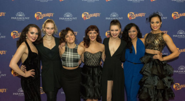 Jessica Palkovic, Kristian Brooks, Erin Kilmurray, Adrienne Storrs, Madison Piner, Cassandra Porter and Amy Biddle Owens