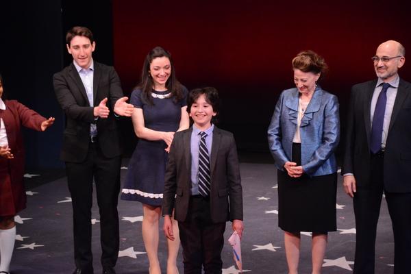 Ben Fankhauser, Julie Benko, Peyton Lusk, Lori Wilner and Ned Eisenberg Photo