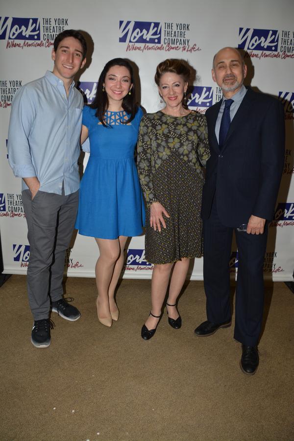 Ben Fankhauser, Julie Benko, Lori Wilner and Ned Eisenberg Photo