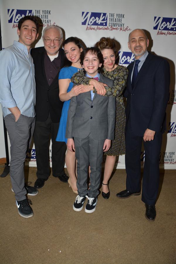 Ben Fankhauser, Tim Jerome, Julie Benko, Peyton Lusk, Lori Wilner and Ned Eisenberg Photo