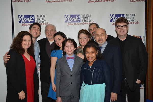 Photo Coverage: Inside Opening Night of The York Theatre Musicals in Mufti Series' BAR MITZVAH BOY