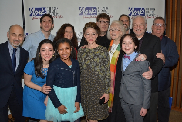Margaret Styne widow of Julie Styne joins Annette Jolles, Darren R. Cohen and James Morgan with the cast- Ben Fankhauser, Tim Jerome, Julie Benko, Peyton Lusk, Lori Wilner, Neal Benari and Ned Eisenberg