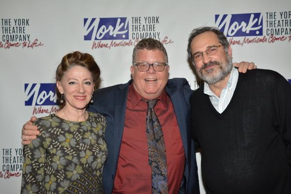 Lori Wilner, James Morgan and Neal Benari Photo