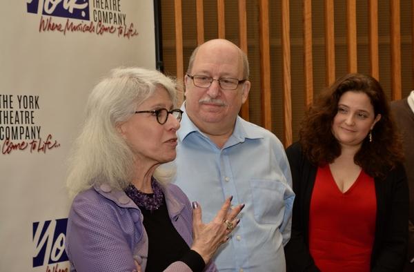 Jamie deRoy, Ken Bloom and Annette Jolles