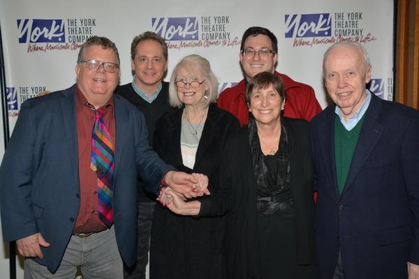 James Morgan, Laurence Holzman, Margaret Styne, Joshua Simmons, Joan Ross Sorkin (Pre Photo